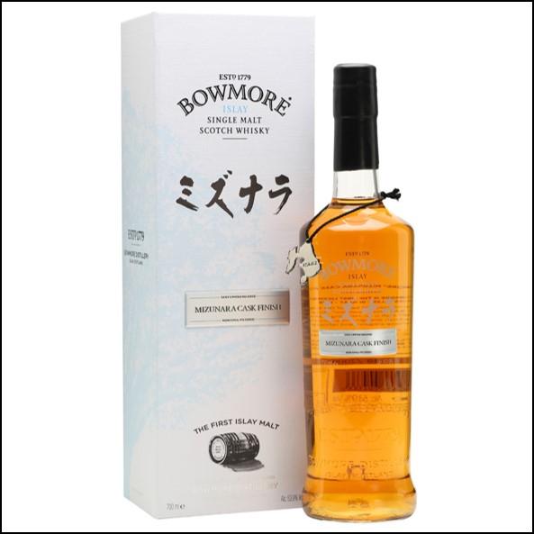 Bowmore 15 Year Old Mizunara Cask Finish 波摩 水楢桶 70cl 53.9%