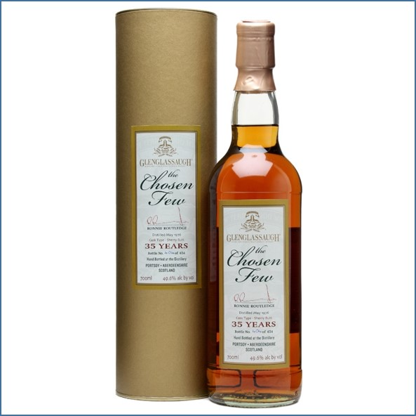 Glenglassaugh 1976 35 Year Old The Chosen Few Highland Single Malt Scotch Whisky 70cl 49.6%