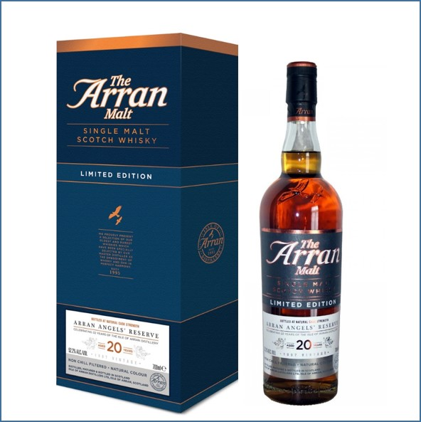 Arran  Angel's Reserve 20 Year Old 1997 70cl 52.2%