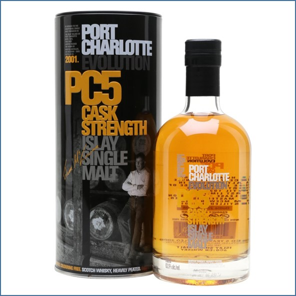 Port Charlotte CP5 2001 5 Year Old 70cl 63.5%