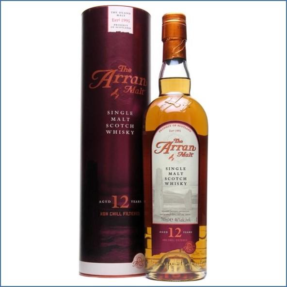 Arran 12 Year Old Island Single Malt Scotch Whisky 70cl 46%