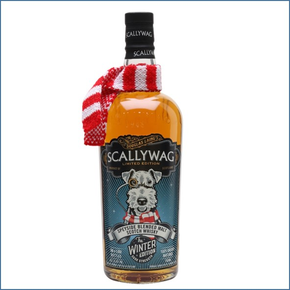 Scallywag Winter Edition Speyside Blended Malt Scotch Whisky Douglas Laing 70cl 52.6%