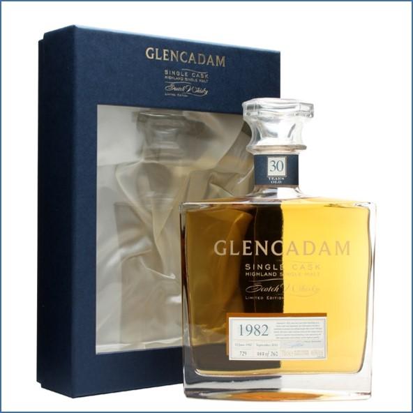 Glencadam 30 Year Old 1982 70cl 46%