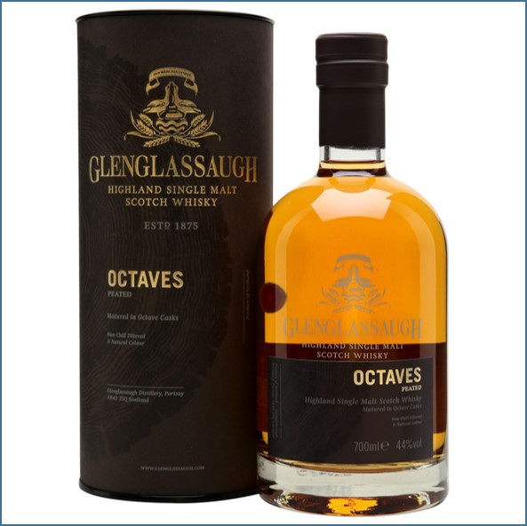 Glenglassaugh Octaves Peated Batch 1 Highland Single Malt Scotch Whisky 70cl 44%
