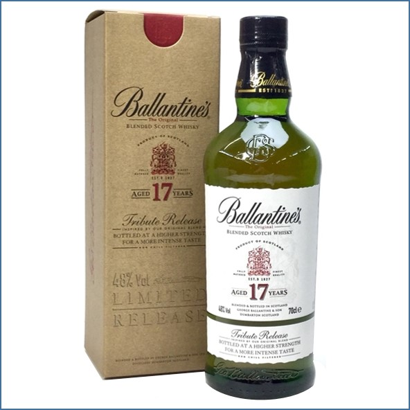 Ballantine's 17 Year Old Tribute Release 48%