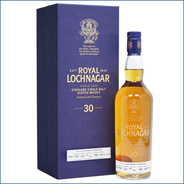Royal Lochnagar 30 Year Old - Cask Of HRH Prince Charles 70cl 52.6%