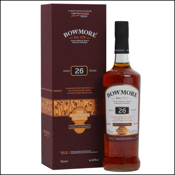 Bowmore 26 Year Old Wine Cask Vintner's Trilogy Part 2 70cl 48.7%