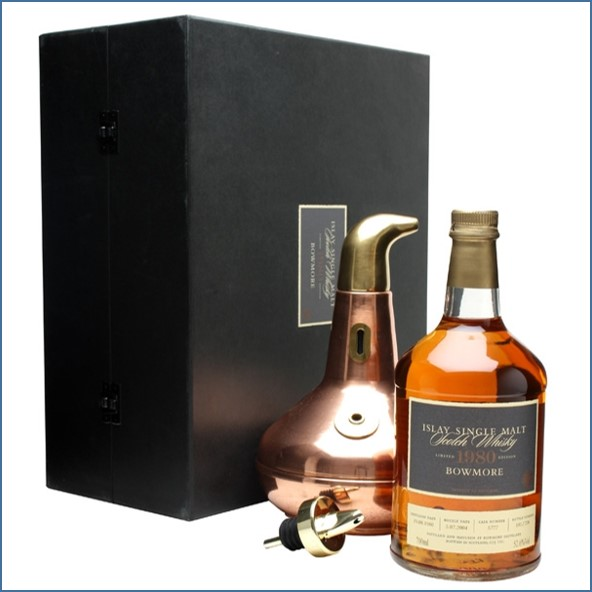 Bowmore 23 Years Old 1980 + Copper Pot Still 70cl 52.6%