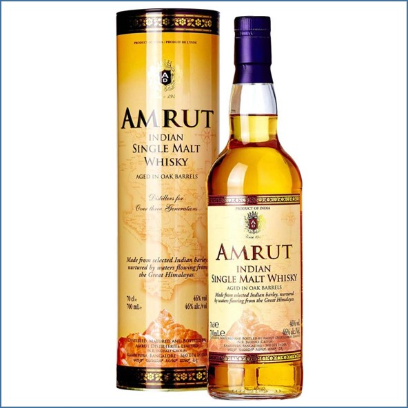 Amrut Single Malt Whisky Exclusive for Taiwan 70cl 46%