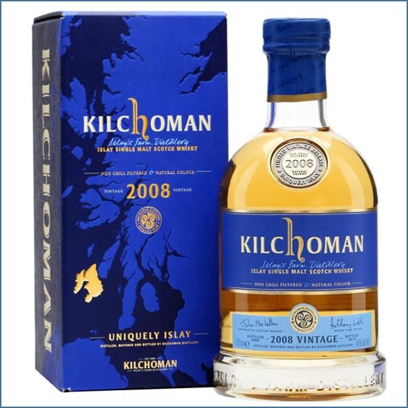 Kilchoman 2008 Vintage  7 Year Old 70cl 46%