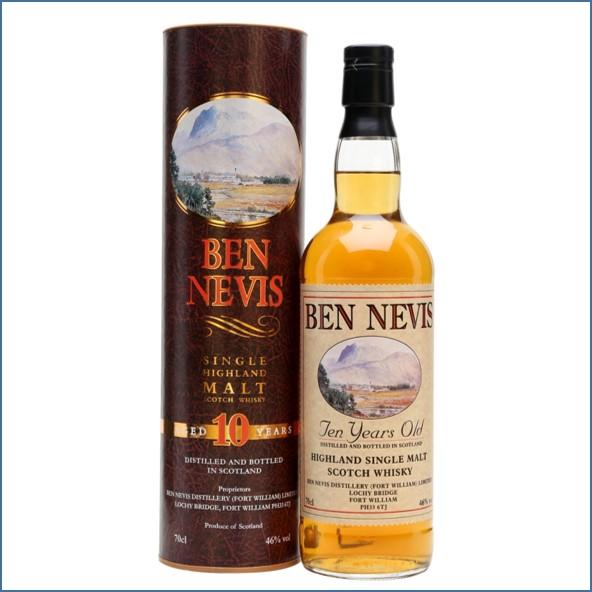 Ben Nevis 10 Years Old 70cl 46% 2015