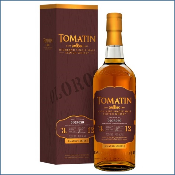 Tomatin Oloroso 2014 Limited Edition 70cl 46%