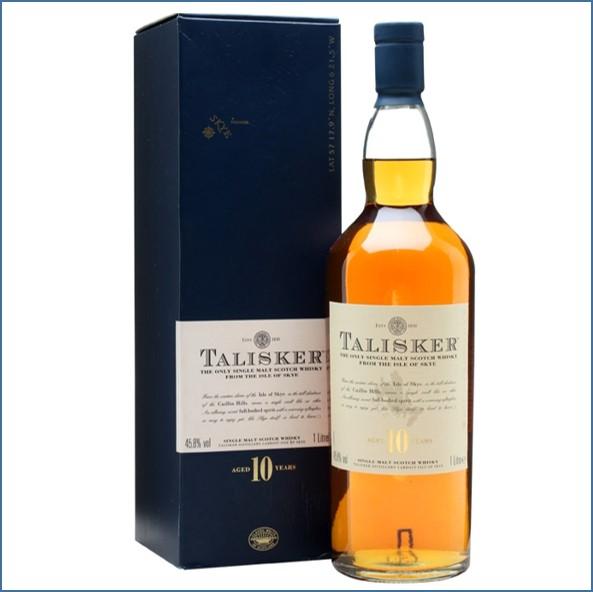 Talisker 10 Year Old 100cl 45.8%