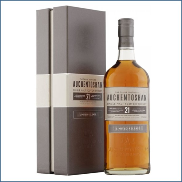 Auchentoshan 21 Year Old 70cl 43%1990 Limited Release