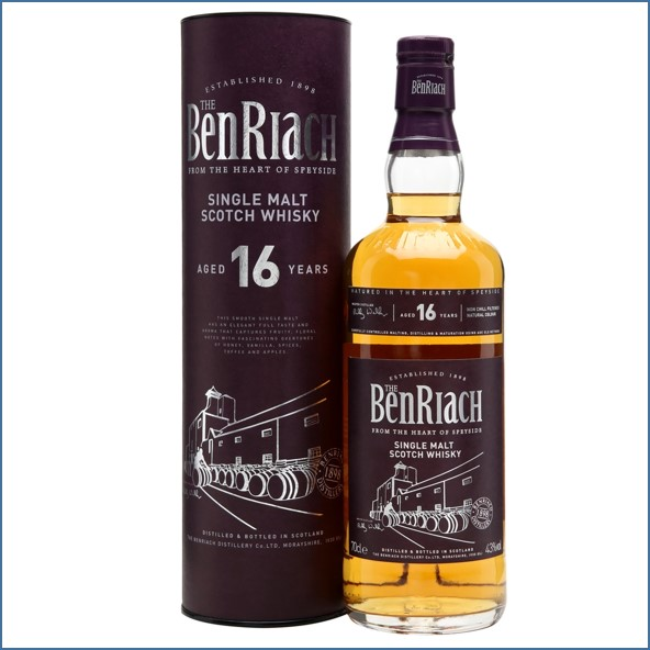 Benriach 16 Year Old 70cl 43%