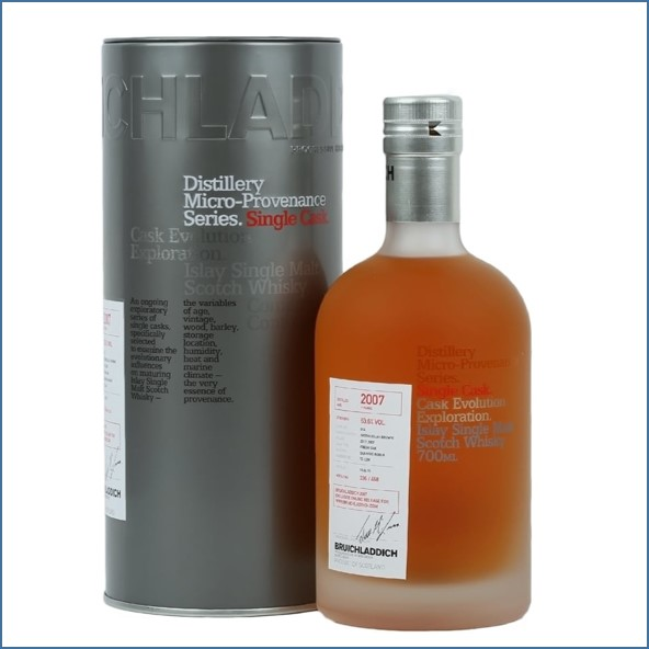Bruichladdich 7 Year Old  Micro 2007 Provenance 70cl 63.6%