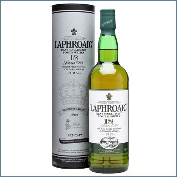 Laphroaig 18 Year Old Queen's Diamond Jubilee Edition 70cl 48%