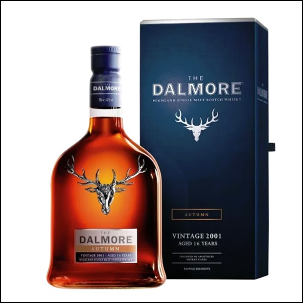 The Dalmore Seasons Collection Taiwan Exclusive – Autumn Vintage 2001 (Aged 16 Years)大摩鎏金四季系列收購 2001-秋