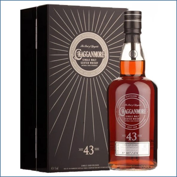 Cragganmore 43 years Single Cask 70CL 47.4% 克拉格摩爾 43年 單桶