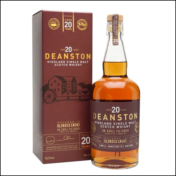 DEANSTON 20 YEAR OLD Oloroso 70cl 55.3%