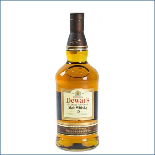 Dewar's 15 Year Old Blended Malt 75cl  43% Asian Import