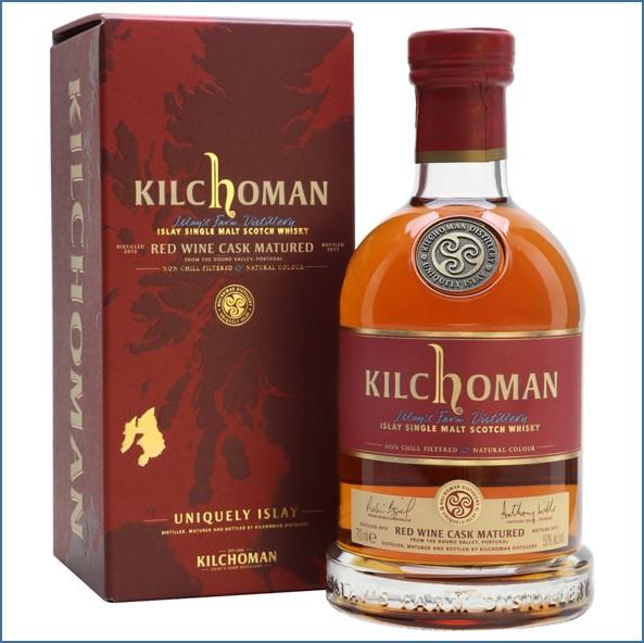 Kilchoman 2017 5 Year Old Red Wine Cask 2012 70cl 50%
