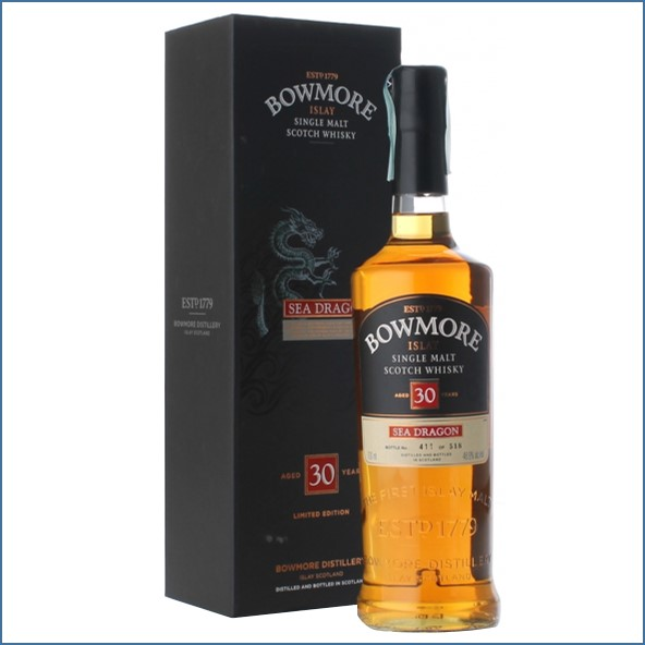 Bowmore 30 Years Old Sea Dragon 70cl  48.9%