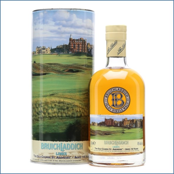 1. Bruichladdich 14y Links I  The Old Course St. Andrews  2003  Refill Spanisch Oak