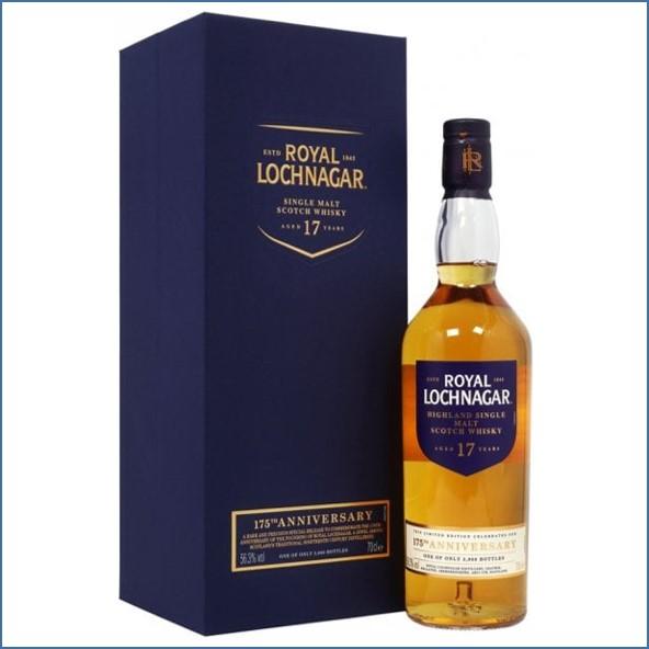 Royal Lochnagar 17 Year Old 175th Anniversary 70cl 56.3%