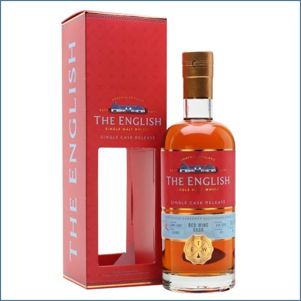 The English Whisky Co. Portuguese Cabernet Sauvignon Single Cask 70cl 56.8%
