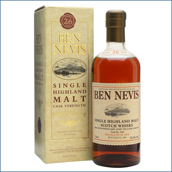 Ben Nevis 26 Year Old 1970 Cask #4534 75cl 53.1%