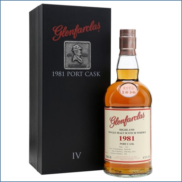 Glenfarclas 1981 35 Year Old Port Cask Family Collection Ⅳ 70cl 47.9%