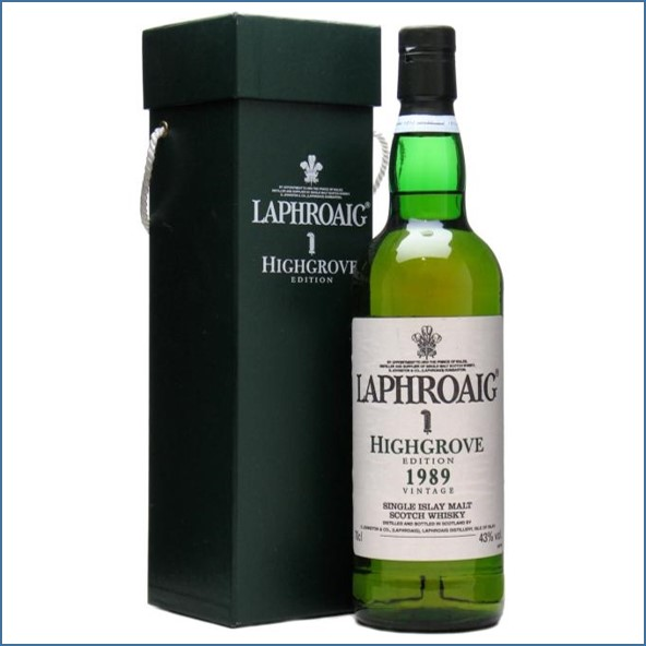 Laphroaig 1989 Highgrove House 70cl 43%