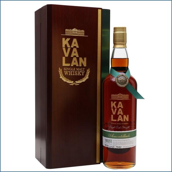 Kavalan Solist Amontillado Cask #011A (2010) Taiwanese Single Malt Whisky 70cl 55.6%