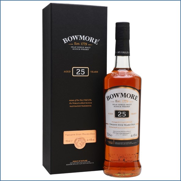 Bowmore 25 Year Old 70cl 43%