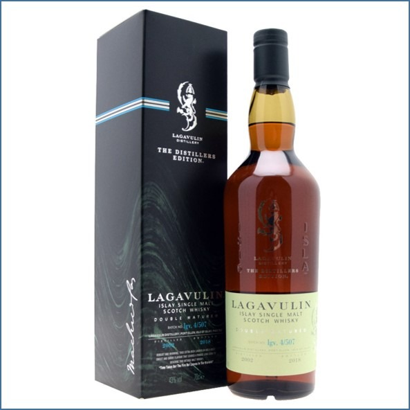 LAGAVULIN 2002 DISTILLERS EDITION Bot.2018 70cl 43% 拉加維林收購 2002-2018 雙桶