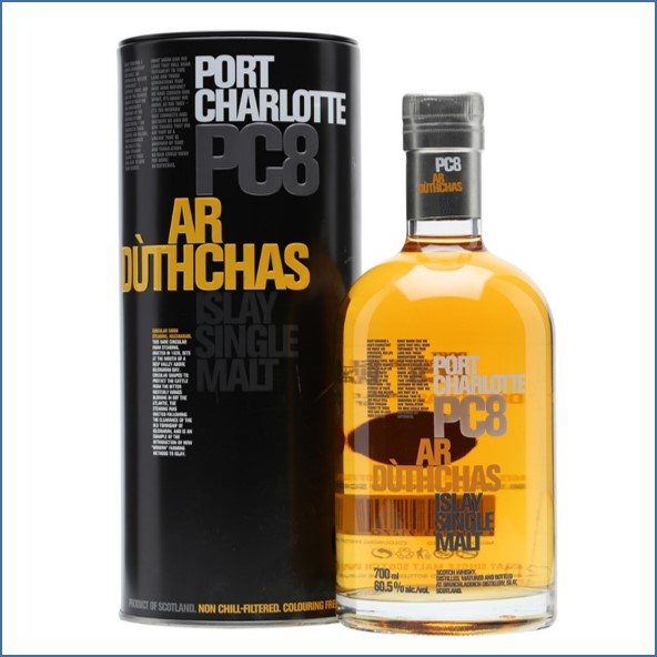 Port Charlotte PC8 Ar Duthchas 70cl 60.5%