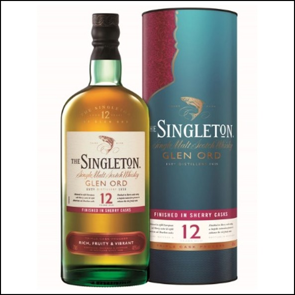 The Singleton of Glen Ord 12-year-old sherry Cask 70cl 40% 蘇格登12年雪莉桶版收購