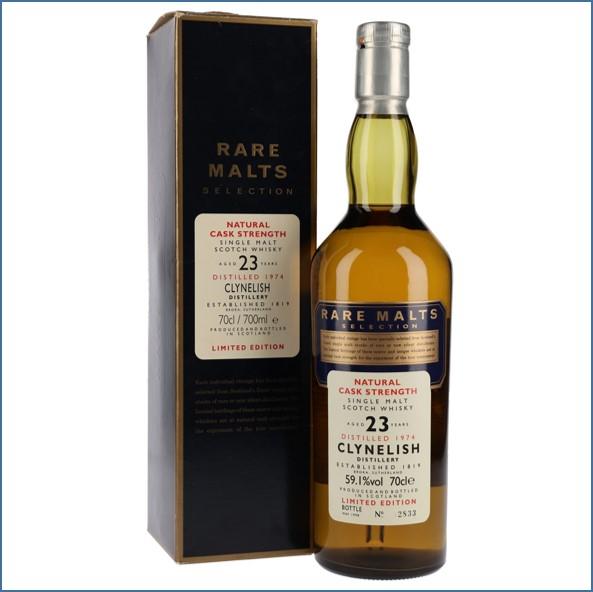 Clynelish 1974 23 Year Old Rare Malts Highland Single Malt Scotch Whisky 70cl 59.1%