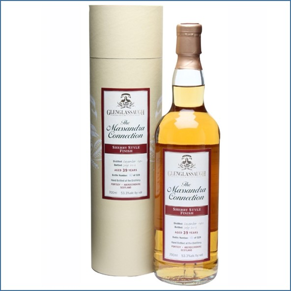 Glenglassaugh 1972 39 Year Old Sherry Style Finish Highland Single Malt Scotch Whisky 70cl 53.3%