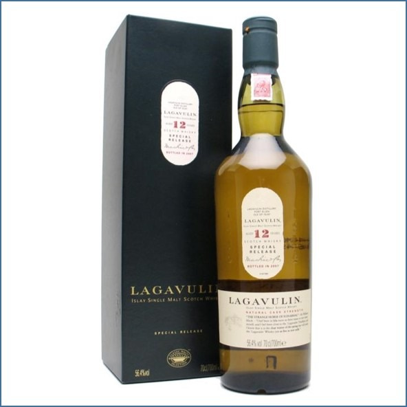 LAGAVULIN 12 YEAR OLD Bot.2007 7th Release 70cl 56.4%  收購拉加維林12年  2007