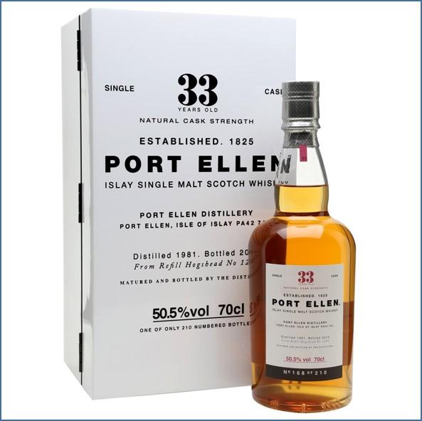 Port Ellen 波艾倫 33年 1981-2015