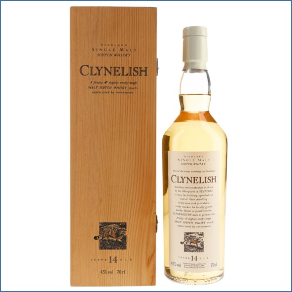 Clynelish 14 Year Old- Flora & Fauna White Capsule 70cl 43%