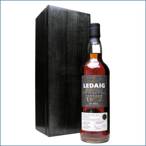 收購里爵32年 Ledaig 32 Year Old 1972 70cl 48.5%