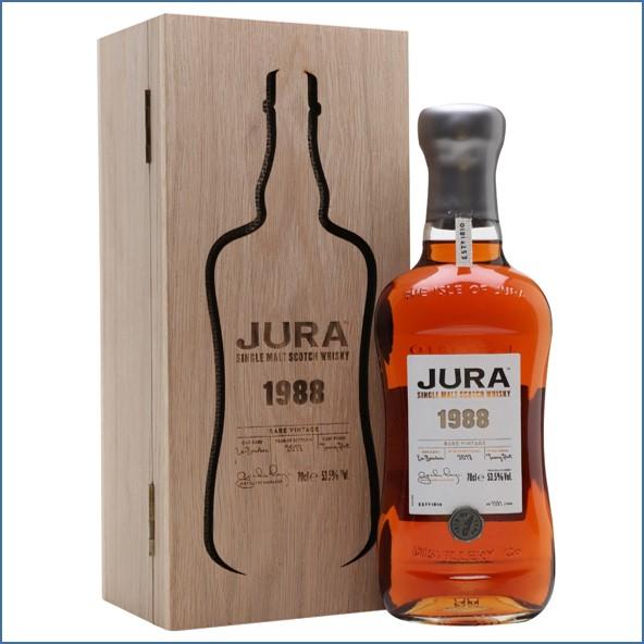 Jura 1988 Vintage Series Tawny Port Finish Island Single Malt Scotch Whisky 70cl 53.5%