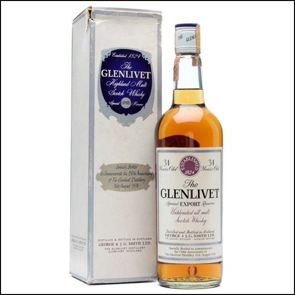 GLENLIVET 34 YEAR OLD 150th Anniversary 75cl 40%
