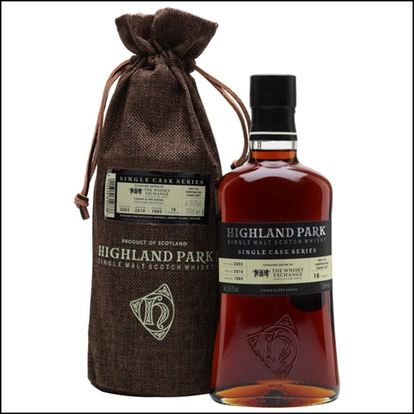 Highland Park 2003 16 Year Old Sherry Cask TWE Exclusive 70cl 58.9%