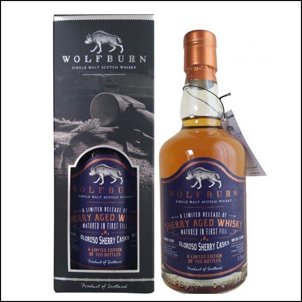 Wolfburn 6 years old Father's Day 2014-2020 70cl 51.3%