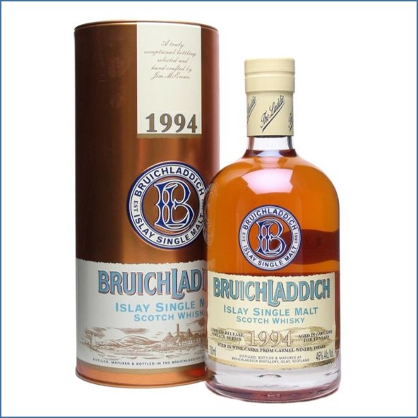 Bruichladdich 14 Year Old  1994 Kosher Wine Finish 70cl 46%