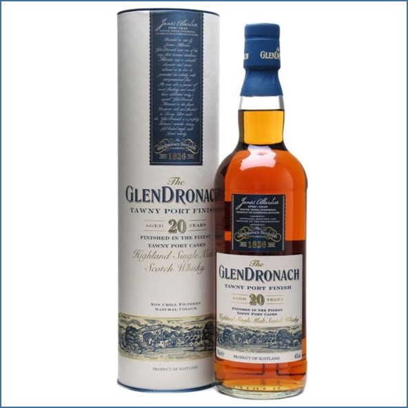 Glendronach 20 Year Old Tawny Port Finish 70cl 46%